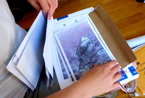 Papergirl Unpacking